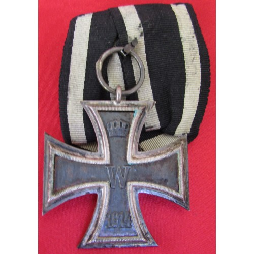 WWI Iron Cross 2nd Class, Parade Mount # 6096
