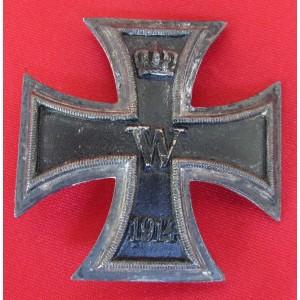WWI Iron Cross 1st Class # 6097