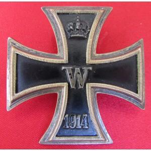 WWI Iron Cross 1st Class # 6098