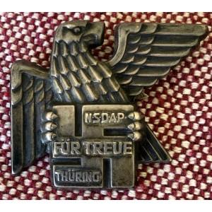 Gau Honor Badge Thüringen, Numbered  # 6103