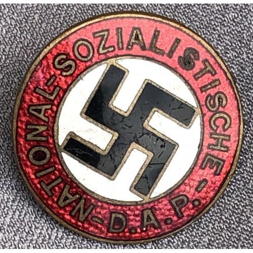 NSDAP Membership Badge # 6122