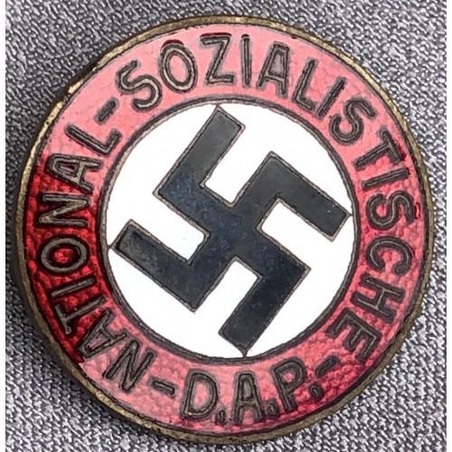 NSDAP Membership Badge # 6130