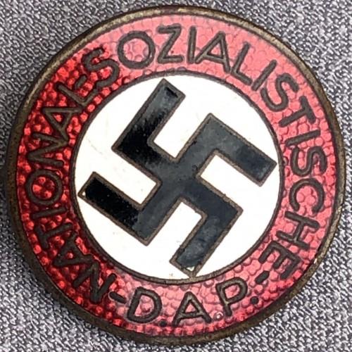 NSDAP Membership Badge # 6137