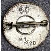NSDAP Membership Badge # 6156