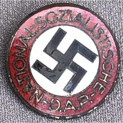 NSDAP Membership Badge # 6160