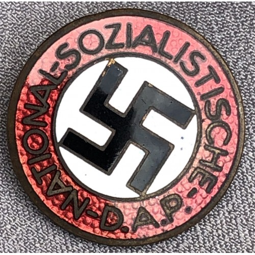 NSDAP Membership Badge # 6164