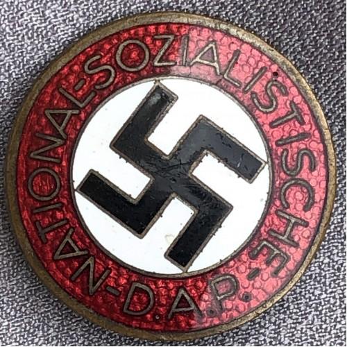 NSDAP Membership Badge # 6167