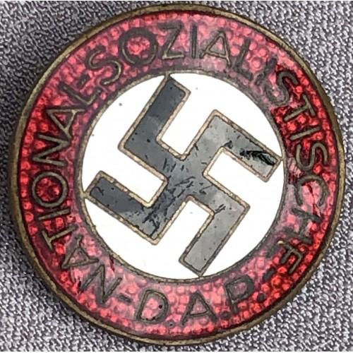 NSDAP Membership Badge # 6177