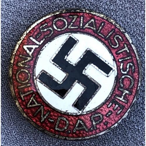 NSDAP Membership Badge # 6186