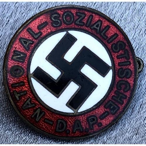 NSDAP Membership Badge # 6195