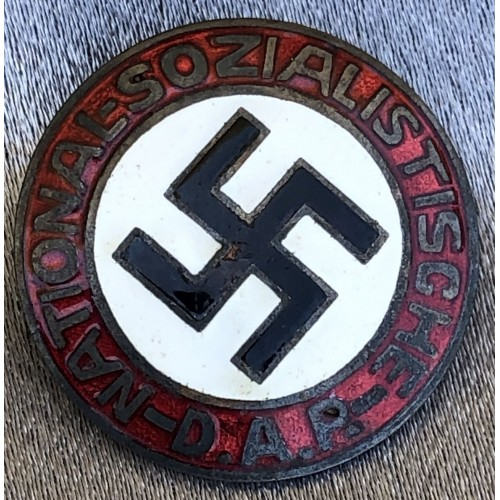 NSDAP Membership Badge # 6197