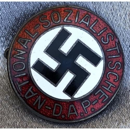 NSDAP Membership Badge # 6201