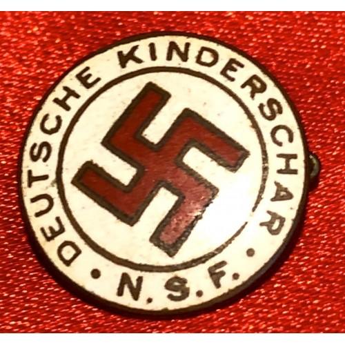 Deutsche Kinderschar N.S.F. Badge   # 6205
