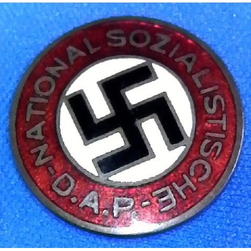 NSDAP Membership Badge # 6196