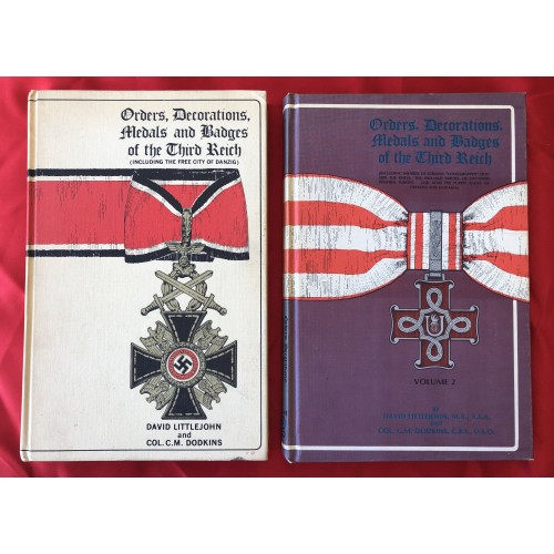 Orders, Decorations, Medals and Badges of the Third Reich  # 6223