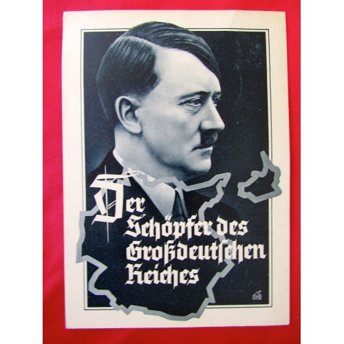 Der Schöpfer des Grossdeutschen Reiches Postcard # 6241