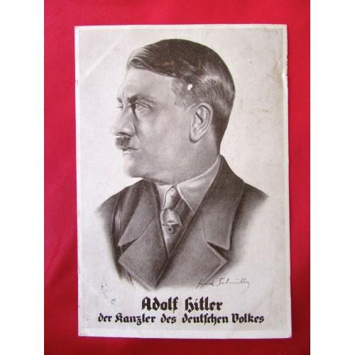 Der Kanzler Des Deutschen Volkes Postcard # 6244