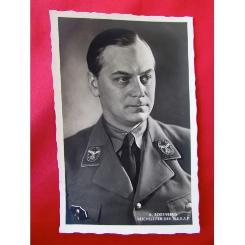 A. Rosenberg Reichsleiter Der N.S.D.A.P. Postcard # 6255