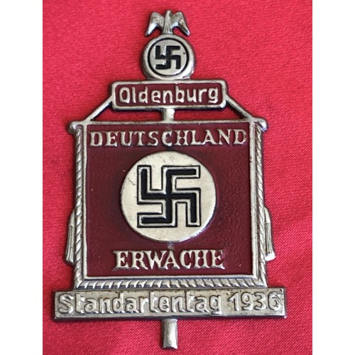 1936 Oldenburg Germany Awake Tinnie # 6291