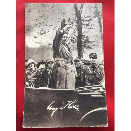 Adolf Hitler Postcard # 6301
