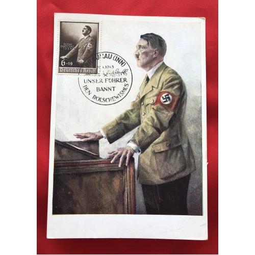 Unser Führer Postcard # 6302