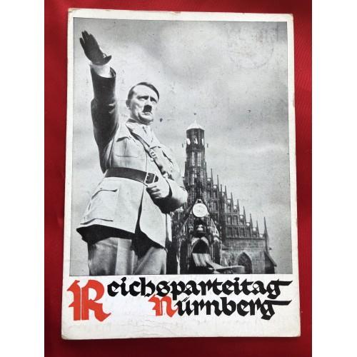 Hitler Reichsparteitag Nürnberg Postcard # 6305