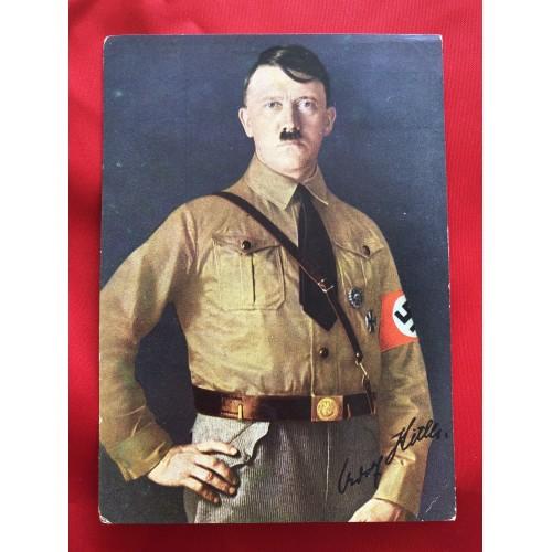 """""""Männer der Zeit"""" Nr. 1 Adolf Hitler Postcard # 6308"""