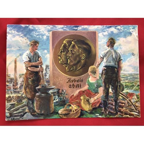 1. Mai Feiertag Der Nationalen Arbeit Postcard # 6315