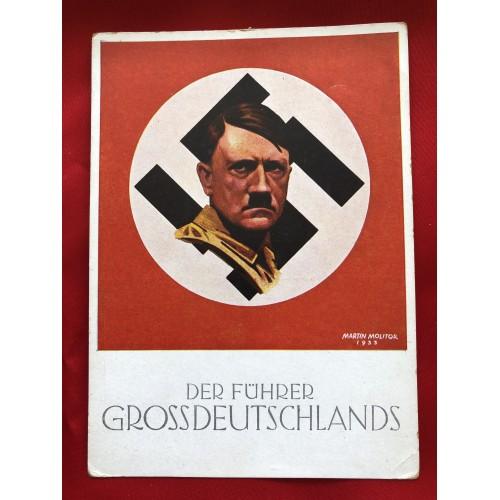 Der Führer Grossdeutschlands Postcard # 6322