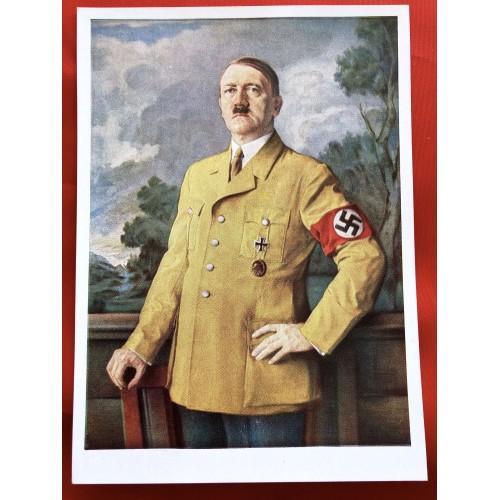 Adolf Hitler Postcard # 6331