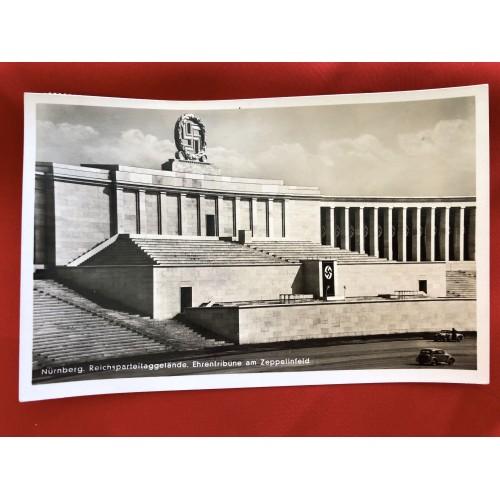 Nürnberg. Reichsparteitaggelände. Ehrentribüne am Zeppelinfeld Postcard # 6345