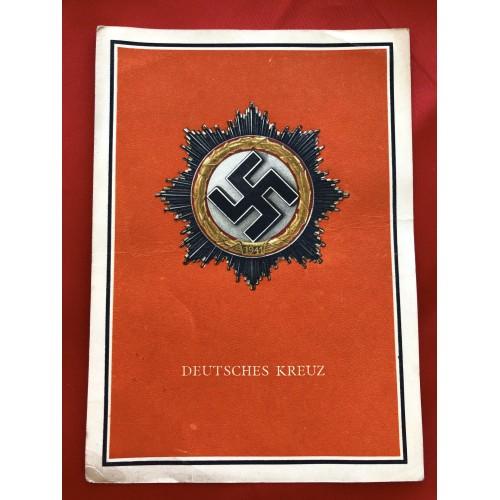 Die Kriegsorden des Grossdeutschen Reiches Postcard # 6363