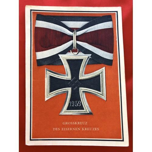 Die Kriegsorden des Grossdeutschen Reiches Postcard # 6364