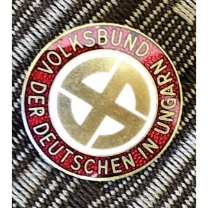 Volksbund Association of German Hungarians Badge # 6365