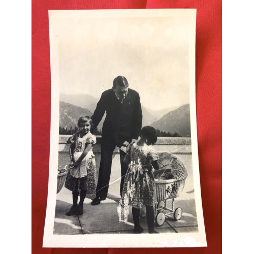 Hitler with Children Postcard # 6375