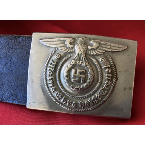 SS EM/NCO Buckle and Belt # 6389