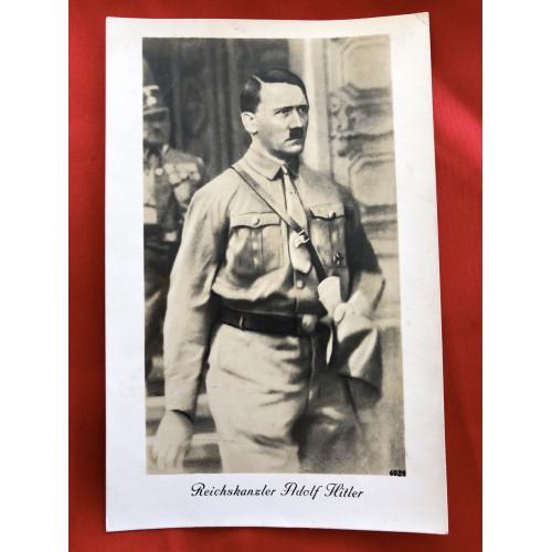 Reichskanzler Adolf Hitler Postcard # 6397