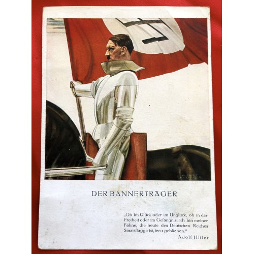 Adolf Hitler Postcard # 6401