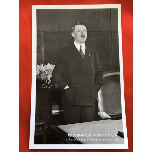 Reichskanzler Adolf Hitler Postcard # 6423