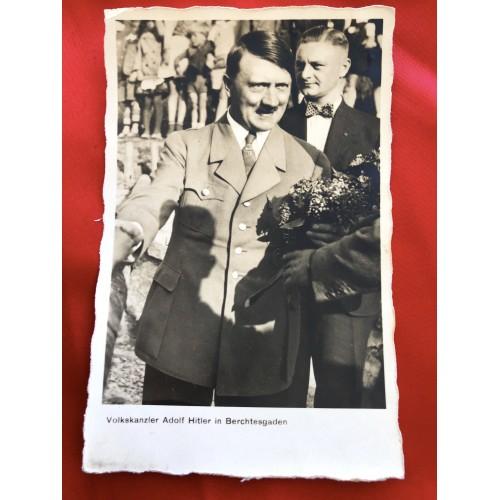 Volkskanzler Adolf Hitler in Berchtesgaden Postcard # 6425