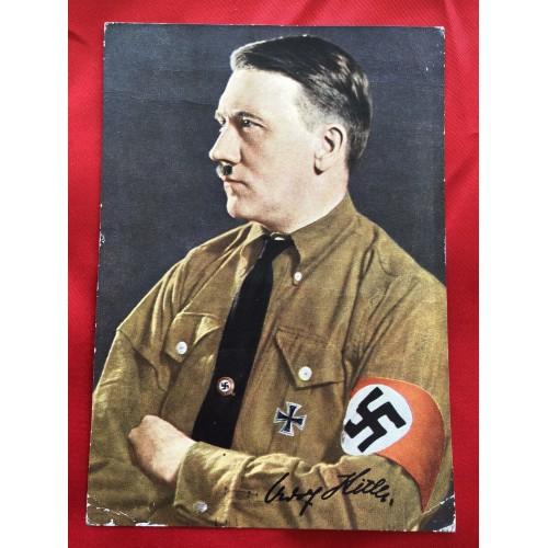 """""""Männer der Zeit"""" Nr. 2 Adolf Hitler Postcard # 6451"""