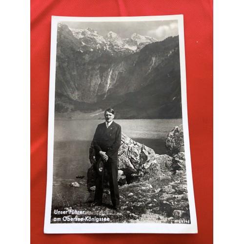 Unser Führer am Obersee-Königssee Postcard # 6456