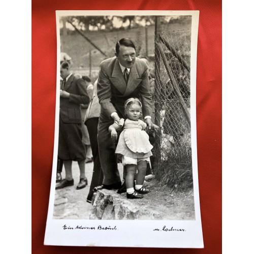 Ein kleiner Besuch M. Lochner Postcard # 6458