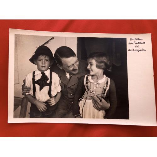 Der Führer am Hintersee bei Berchtesgaden Postcard # 6459