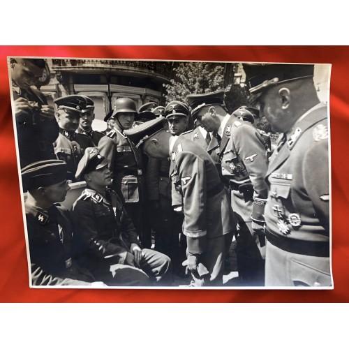 Himmler Press Photo # 6474