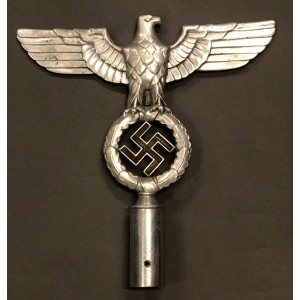 NSDAP Flag Pole Top # 6476