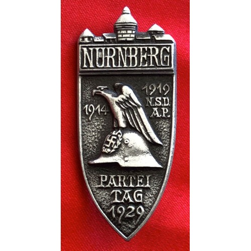 Nürnberg Party Day 1929 Badge