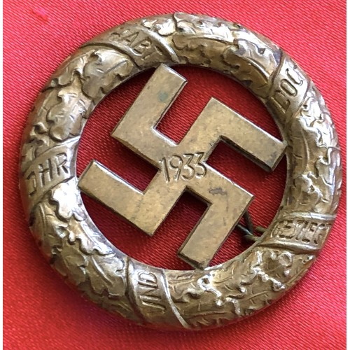 Gau Munich Commemorative Badge # 6492