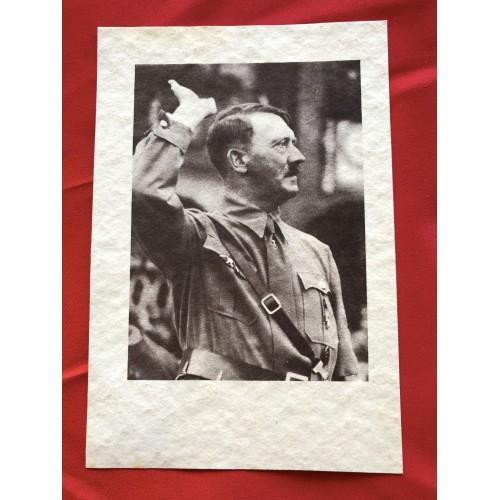 Adolf Hitler Postcard  # 6508