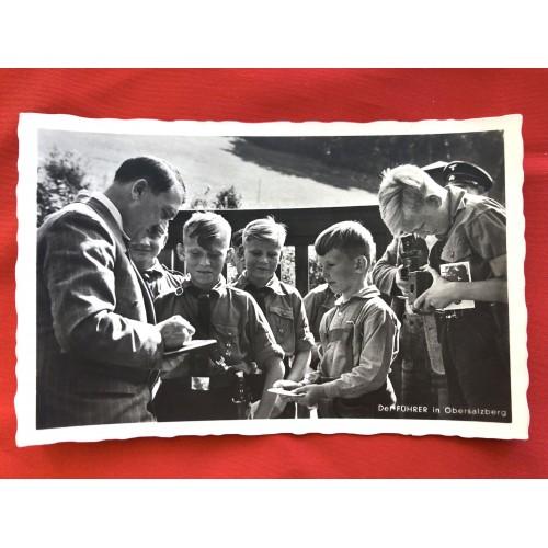 Führer in Obersalzberg Postcard # 6517